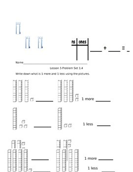 Math Worksheets: TENS & ONES/COMPARING/2-DIGIT ADDITION & SUBTRACTION