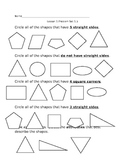Math Worksheets: PLANE SHAPES/SOLID SHAPES/FRACTIONS/TIME