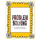 Common Core Math Daily Problem Solving Number Bonds & Other Strategies