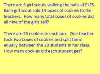 Common Core Math Daily/Weekly Word Problem Practice