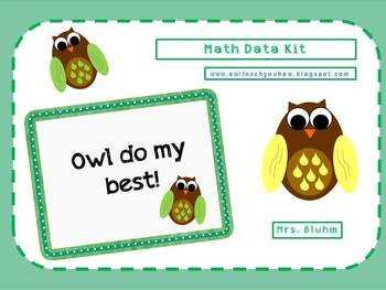 Common Core Math Data Collection Kit