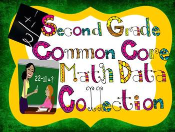 SECOND GRADE Common Core Math Data Collection Tool
