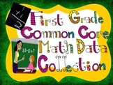 Common Core Math Data Collection Tool-First Grade