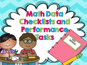 Kindergarten Common Core Math Data Notebook Kit - Assessme