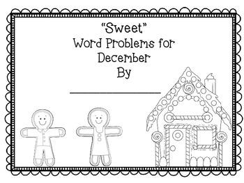 Second Grade Common Core Math-2.OA.1- December Word Problems