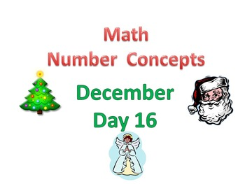 Daily Interactive CC Number Concepts Dec. Week 4