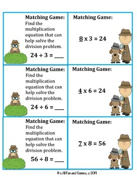 Division Game (Unknown Factor)