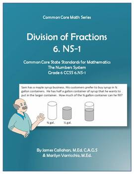 Common Core Math - Division of Fractions (6.NS-1)