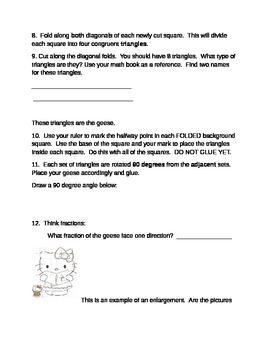 Common Core Math Enrichment Project