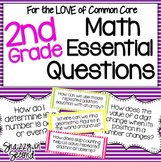 Essential Questions Math Posters for 2nd Grade {Common Core}