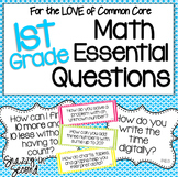 Essential Questions Math Posters for 1st Grade {Common Core}