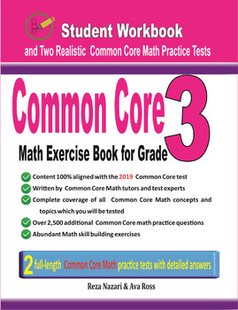 Common Core Math Exercise Book for Grade 3: Student Workbook