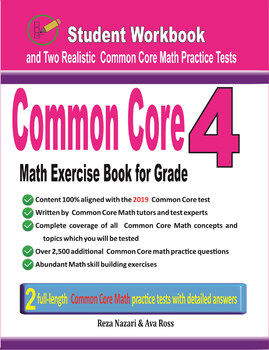 Common Core Math Exercise Book for Grade 4: Student Workbook
