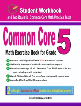 Common Core Math Exercise Book for Grade 5: Student Workbook