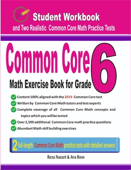 Common Core Math Exercise Book for Grade 6