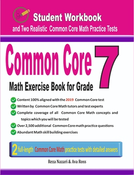 Common Core Math Exercise Book for Grade 7: Student Workbook