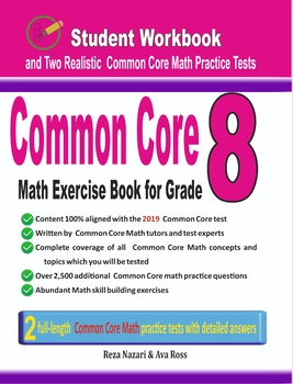 Common Core Math Exercise Book for Grade 8: Student Workbook