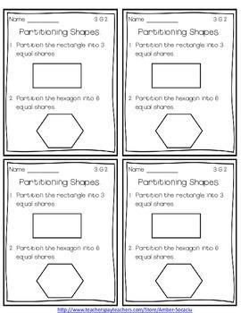 Common Core Math Exit Slips/Quick Checks for 3rd Grade Geometry