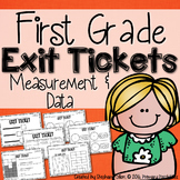Common Core Math Exit Tickets- First Grade MD
