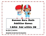 Common Core Math First Grade Addition Games- 1.OA6 Add Within 20