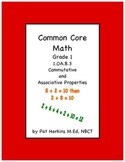 Common Core Math First Grade Commutative and Associative P
