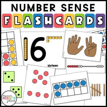 Math Flashcards Pack - dot cards, subitizing,... by My Happy Place ...