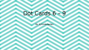 Common Core Math Fluency Dot Cards 6 - 9