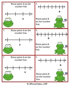 Fractions Game (Number Line)