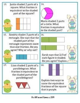 Fractions Game (Equivalent)