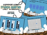 Common Core Math Game for First Grade - 1.NBT.2  Interactive Powerpoint
