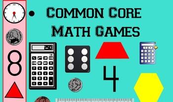Common Core Math Games