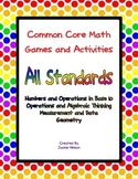 Common Core Math Games: 1st Grade: All Standards