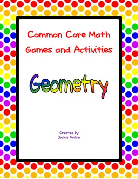 Common Core Math Games: 1st Grade: Geometry
