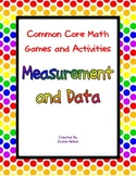 Common Core Math Games: 1st Grade: Measurement and Data