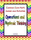 Common Core Math Games: 1st Grade: Operations and Algebrai