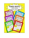 "Common Core Math Games - ""Math BINGO"" BUNDLE Sixth Grade COMPLETE Year"
