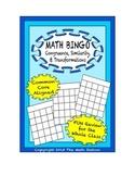 "Common Core Math Games - ""Math BINGO"" Congruence & Similarity - 8th Grade"
