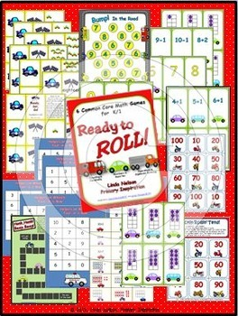 Math Games for K/1: Ready to Roll!