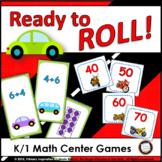 Kindergarten and First Grade Math Center Games