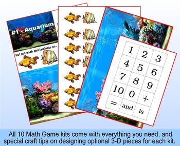 Common Core Math Games for Kindergarten