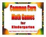 Common Core Math Games for Kindergarten