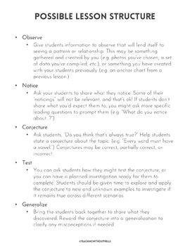 Common Core Math Generalizations- Help Children See Relationships and Patterns