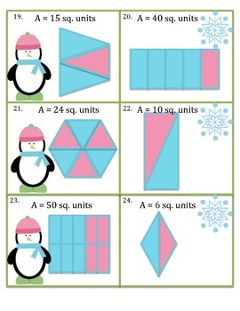 Geometry (2 Levels of Play) - Common Core Math Game/Task Cards 3.G.2
