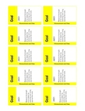 Common Core Math Goal Cards for Measurement & Data {2nd Grade}