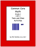 Common Core Math Grade 1 Tens and Ones Activities 1.NBT.B.2