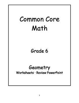 6th Grade Common Core Math Geometry Activities