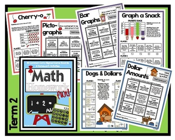 Common Core Math Homework - Grade 2 - All Year!!