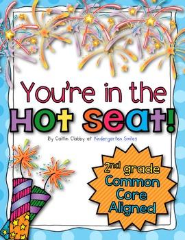 Common Core Math Hot Seats (Second Grade)