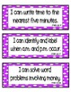 """Common Core Math """"I Can"""" Statements 2nd Grade- Color Coded"""