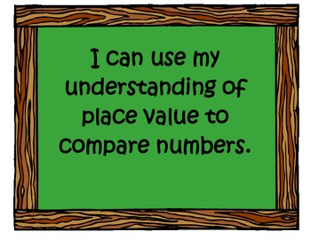 "Common Core Math ""I Can"" Statements for Second Grade"
